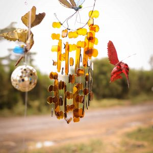 glass Wind chimes